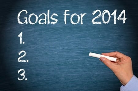 What goals have you set for the 2014 financial year?
